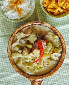 Rice and Coconut: Javanese vegetables soup in coconut milk/sayur lod...