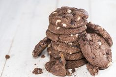 10 Chocolate Chip Cookie Recipes to Make with Your Kids Nutella Chocolate Chip Cookies, Pumpkin Chocolate Chips, Baking Recipes, Cookie Recipes, Cake Bars, Perfect Food, Food To Make, Paleo, Favorite Recipes