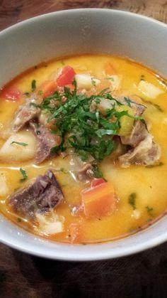 ciorba : soupe de roumanie au son de blé fermenté