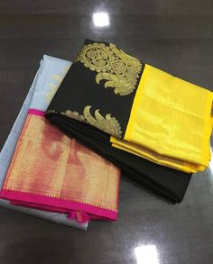 Pure Kanchipuram silk sarees at weavers price pl contact us at for more collections and details