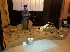 Our Pirate display, August bank holiday 2015. 3 Cogs Entertainment.