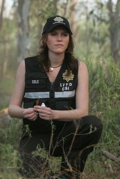 The dark side of Sara Sidle, I identify with somehow... Hope that doesn't come off wrong. :)