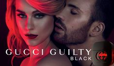 Nueva campaña: Gucci Guilty Black, un perfume muy hot.