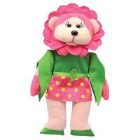 Beanie Kids - Frangipani the Flower Power Bear