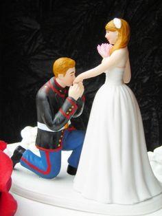 marine corps wedding ideas   Events/Weddings/Ideas / Marine Corps MILITARY USMC prince wedding cake ...