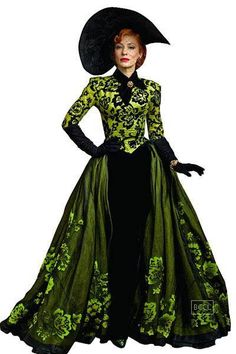 Cate Blanchett as lady tremaine in Disney's Cinderella fabulous costumes by Sandy Powell
