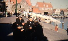 35mm Slide of Volendam, Holland in the early 1950s