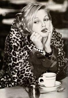 Drew Barrymore. Cafe life  #lollocaffè #gustoepassione #lollocaffe
