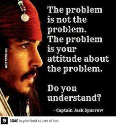 - Captian Jack Sparrow