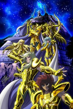 Saint Seiya - Gold Saints - Lost Canvas