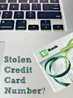 Stolen Credit Card Number? Some tips on what to do.