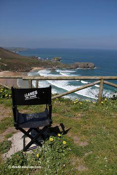 Playa de Torimbia Llanes. Playas de #Llanes Asturias. [Más info] http://www.desdeasturias.com/playa-de-torimbia/