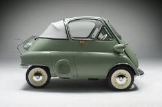 Isetta. You know you'd be the king of party driving one of these...