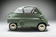 BMW Isetta Cabrio- www.VintageMicrocar.com