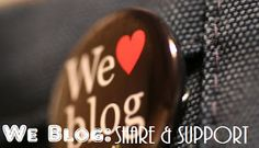 WE BLOG Share & Support Bloggers Campaign! Share you blog with us and support your fellow bloggers. Join now!