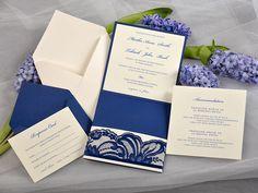 WEDDING INVITATIONS lace 85/laceW/z