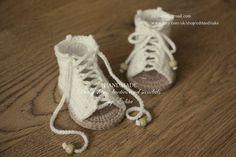 Crochet baby sandals gladiator sandals booties by EditaMHANDMADE