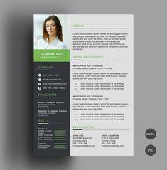 Photoshop Resume Template Free Beautiful 50 Free Cv Resume Templates – Best for 2019 Best Free Resume Templates, Free Professional Resume Template, Microsoft Word Resume Template, Resume Template Examples, Simple Resume Template, Resume Design Template, Cv Template, Professional Cv, Design Resume