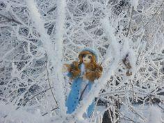 Snow girl  #doll #crochet #withlove #snow #amiguru
