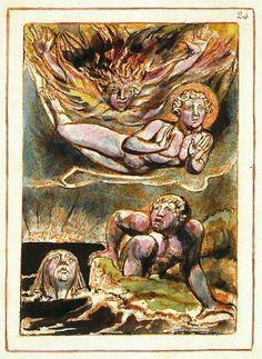 Birth of the sons of urizen - Urizen — Wikipédia William Blake, Classical Elements, Library Of Congress, Mythology, Folk, Symbols, Drawings, Painting, Mysterious