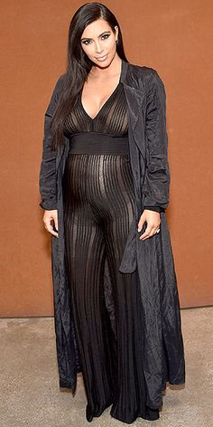 Kim Kardashian Maternity Style, Pregnancy Style : People.com
