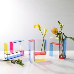 Piet Mondrian, Moma, Vase Haut, Grands Vases, Geometric Form, Plexus Products, Decoration, Floral Arrangements, Room Decor