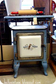 Old Early Kooka wood stove