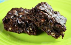 Easy Brownies (Healthy, Whole Grain, No butter, Ready in 30 Minutes!)