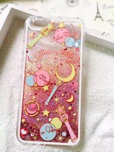 Sailor Moon Liquid Case For iPhone