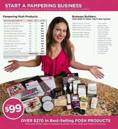 GREAT time to jump into the Pampering Pursuit with Posh!!!  If you've ever considered running your own business, Posh is THE best direct sales company out there.  Get in on the fun!!  :)