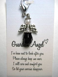 Guardian Angel Charm by mycreativeclutter on Etsy, $8.00