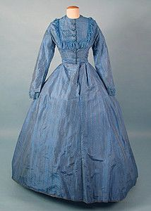 Silk Day Dress, 1860s Session 2 - Lot 353 - $150.00