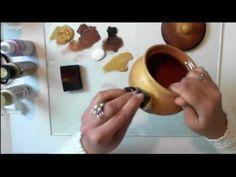 (9) Творческая мастерская. Роспись в технике двойного мазка. - YouTube