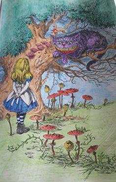 Alices nightmare in Wonderland, after