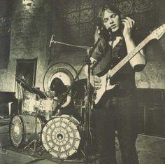 Nick Mason and David Gilmour