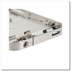 Marco digitalizador de recambio para iPhone 4 (Silver)