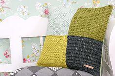 Kussen breien patroon voor beginners