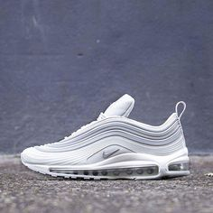 "meet a1b9c 3fe30 Nike recently gave its Air Max 97 Ultra  17 model a clean ""Pure Platinum"