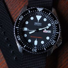 SKX007 on @Crown and Buckle HD NATO strap. by gmtminusfive from Instagram http://ift.tt/1lbupaN