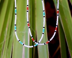 Beaded Choker Necklace, Seed Bead Necklace, Seed Bead Bracelets, Seed Bead Jewelry, Bead Jewellery, Diy Necklace, Beaded Jewelry, Collar Necklace, Necklace Ideas
