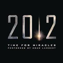 Time For Miracles - Adam Lambert (2009)