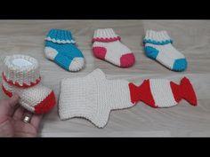 Baby Knitting Patterns, Easy Crochet Patterns, Loom Knitting, Knitting Socks, Crochet Baby Clothes, Crochet Baby Shoes, Crochet Flower Tutorial, Yarn Shop, Crochet For Kids
