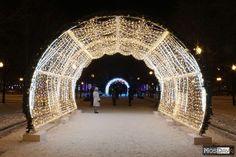 Christmas Arch, Light Art