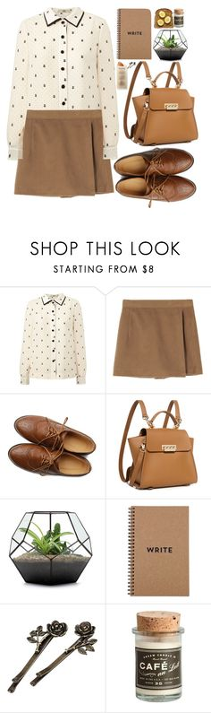 """Без названия #127"" by sinyukovayulya ❤ liked on Polyvore featuring Orla Kiely, Ollio, ZAC Zac Posen, Brika and Martha Stewart"