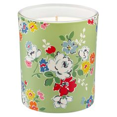 Clifton Rose Fresh Linen Scented Soy Wax Glass Candle | View All | CathKidston
