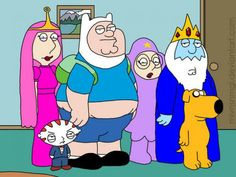 Adventure Time - Padre de Familia