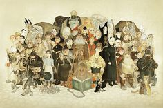 The Discworld Massif | Illustration by Paul Kidby