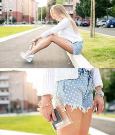 WHITE COLOR FOR THE SUMMER BY DARYA K., 25 YEAR OLD FASHION BLOGGER AND INTERIOR DESIGNER FROM MILAN, ITALY