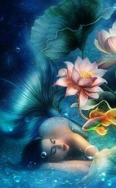 Mermaid - Animated Photo by Dixinox. Love this fantasy art gif! Mermaid Artwork, Mermaid Drawings, Mermaid Paintings, Art Drawings, Fantasy Mermaids, Mermaids And Mermen, Mermaid Gifs, Mermaid Mermaid, Mermaid Pictures