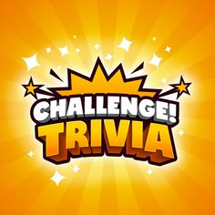 Challenge Trivia Game logo on Behance Letras Abcd, Typography Logo, Logos, Game Logo Design, Event Logo, Creative Poster Design, Text Design, Graphic Design, Professional Logo Design